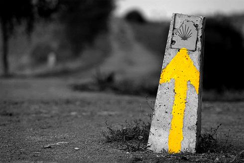 Camino de santiago bttzaleak Casa amarilla santiago